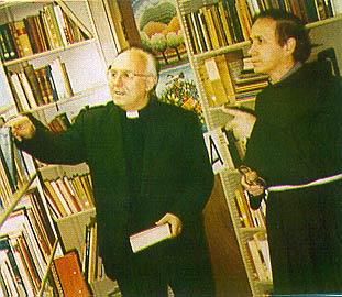 Archbishop Prendja at the Institute